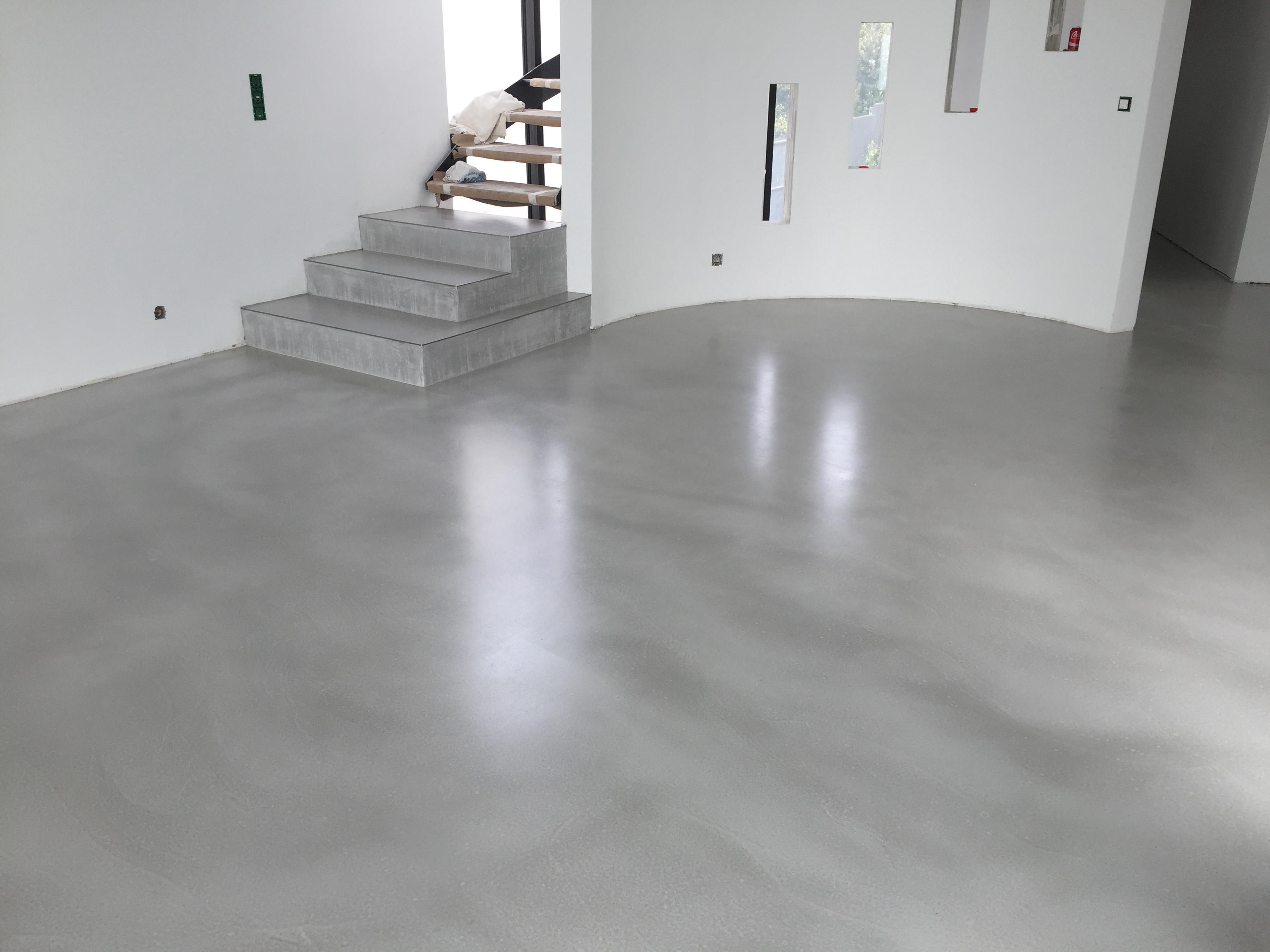 Pose Beton Ciré Exterieur béton ciré - solution originale pour vos espaces - dh rénovation